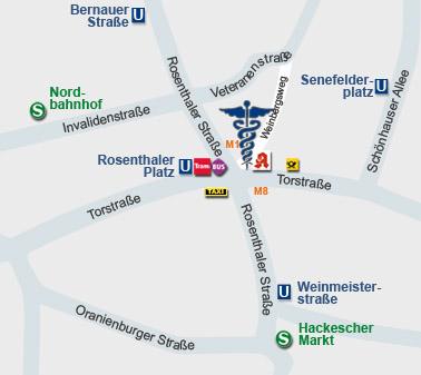 Lage Berlin Mitte